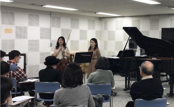 第5回目のNHK講座は「演奏の裏側」も聞けました。