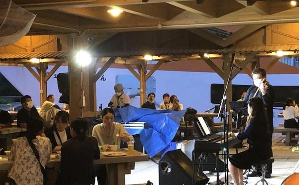 オリパラホストタウンの島にて、ミクロネシア国歌など演奏