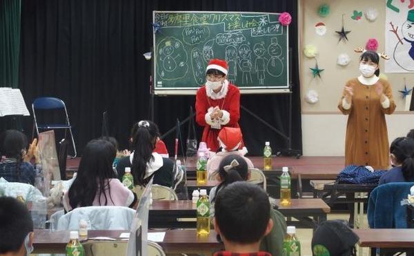 クリスマスソング、今年は歌の代わりにリズムで参加!